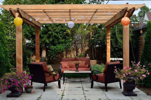 Woodworking Projects - Rustic - Patio - toronto - by Outside Design Build