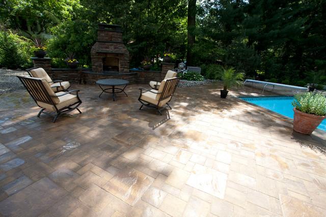 Wyckoff traditional-patio