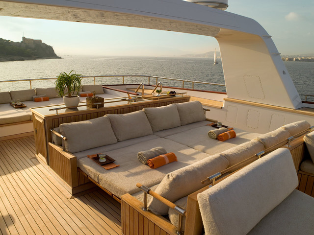 Yacht Design Modern Patio
