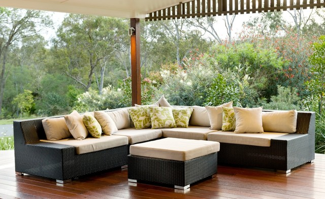 yatala contemporary patio brisbane by utopia