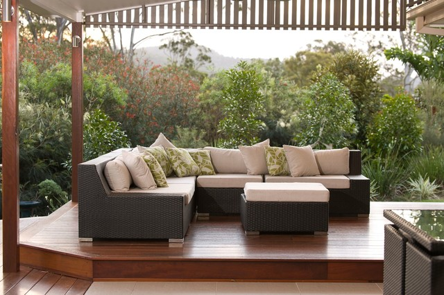 yatala contemporary patio brisbane by utopia ForOutdoor Furniture Yatala