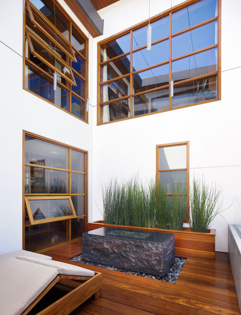 Zen garden tropical patio los angeles by for Interior zen garden