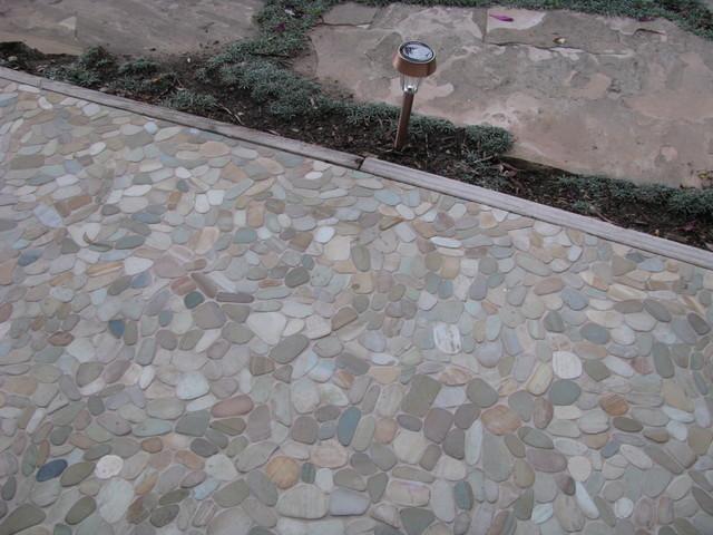 Stone Tiles For Backyard : All Rooms  Outdoor Photos  Patio