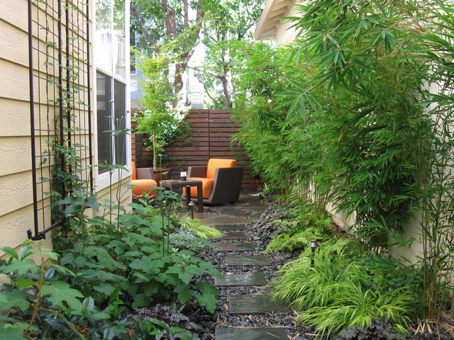 Garden Design North Facing zen patio, north facing - contemporary - patio - san francisco