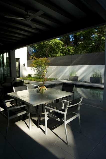 Zen pool and garden modern patio atlanta by howard for Zen pool design