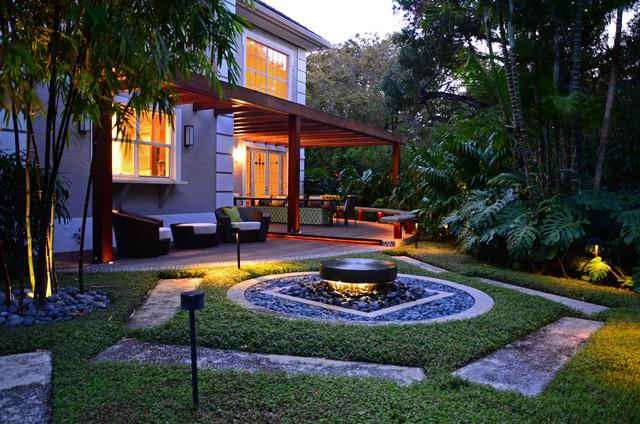 Zesty Zen contemporary-patio
