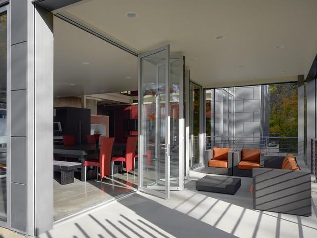 Zinc House Contemporary Patio