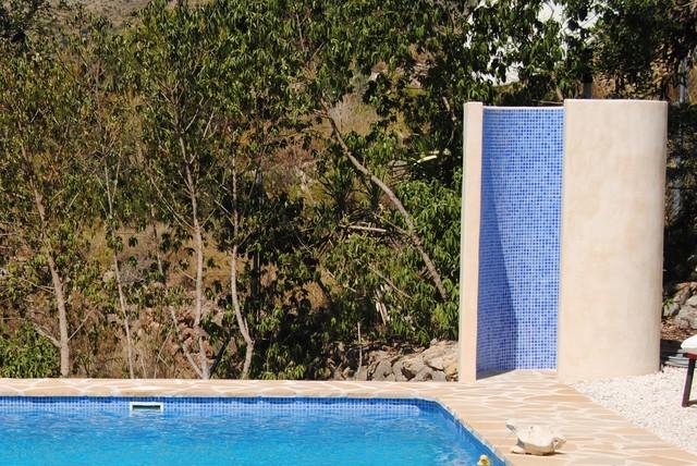 Duchas de obra para exterior - Duchas exteriores para piscinas ...