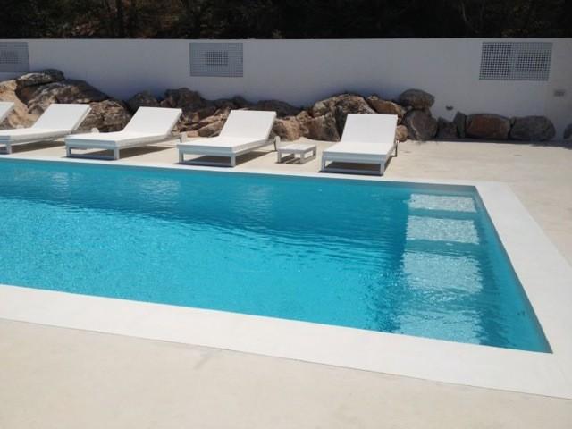 Piscina cemento pulido en ibiza - Cemento para piscinas ...