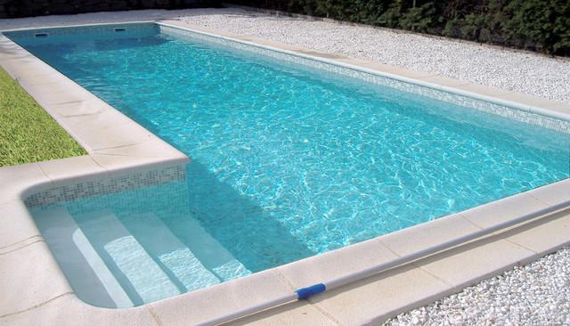 Piscina color bizancio gris renolit alkorplan3000 casa for Piscinas para casas de campo