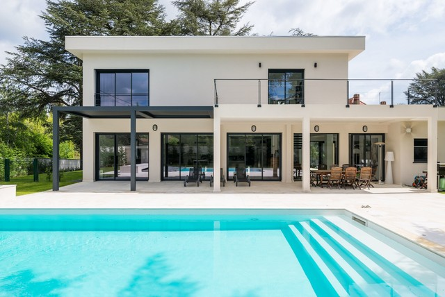 Agencement & Décoration d\'une Villa - Contemporary - Pools & Hot ...