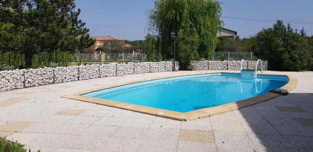Aménagement autour d\'une piscine - Mediterranean - Swimming ...