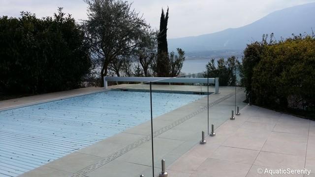 Barrière protection piscine et garde corps en inox
