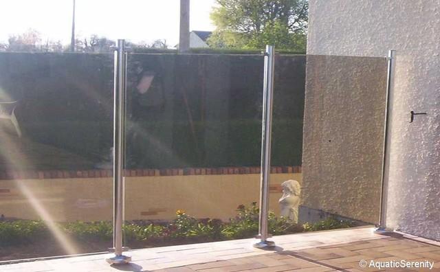 Barri re protection piscine et garde corps en inox - Barriere piscine design ...