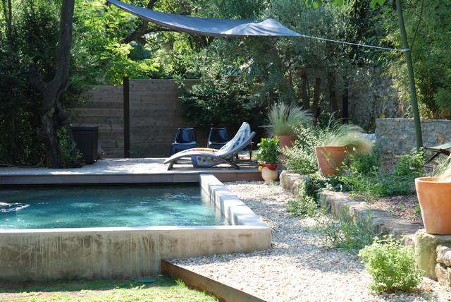 des piscines type bassin piscine montpellier par jardin gecko. Black Bedroom Furniture Sets. Home Design Ideas