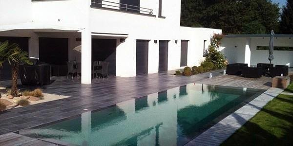 Diif rentes piscines et am nagement ext rieur - Amenagement exterieur piscine ...
