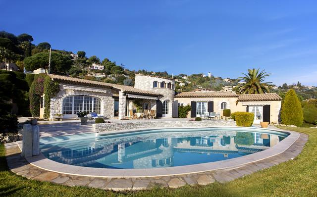 French Riviera Properties - Mediterranean - Swimming Pool & Hot Tub ...
