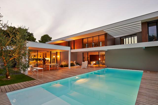 HA 10 maison contemporaine Gradignan proche Bordeaux