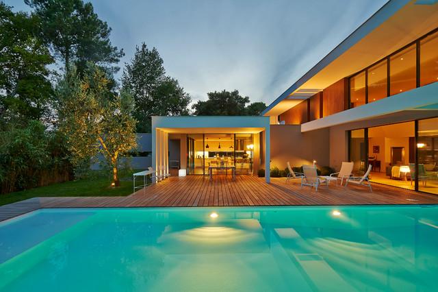 Ha 10 maison contemporaine gradignan proche bordeaux - Maison de l architecture bordeaux ...