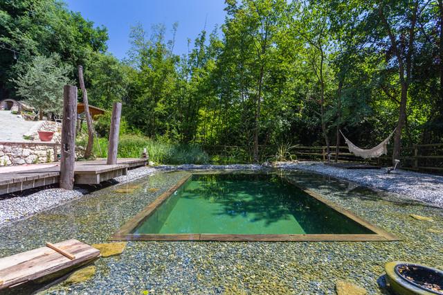 Le moulin campagne piscine nice par franck minieri for Piscine moulins