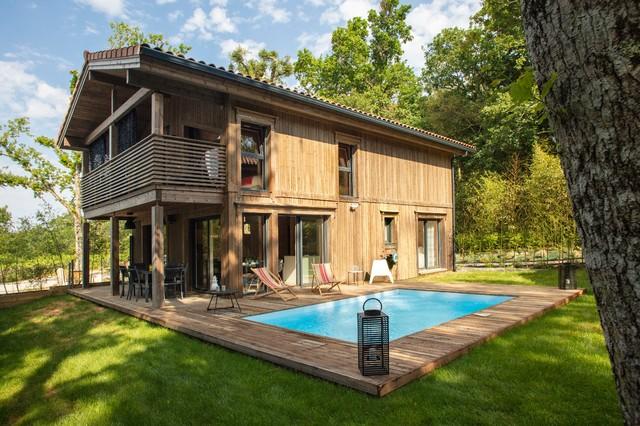 Maison Bois Scandinave maison bois massif scandinave