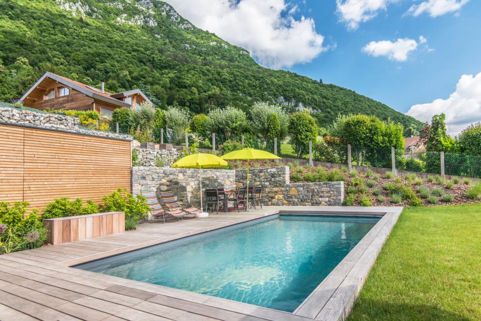Maison En Bois Annecy maison booa - bardage bois - annecy - scandinavian - pools