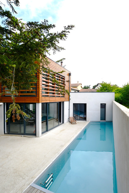 maison contemporaine lyon 5 me