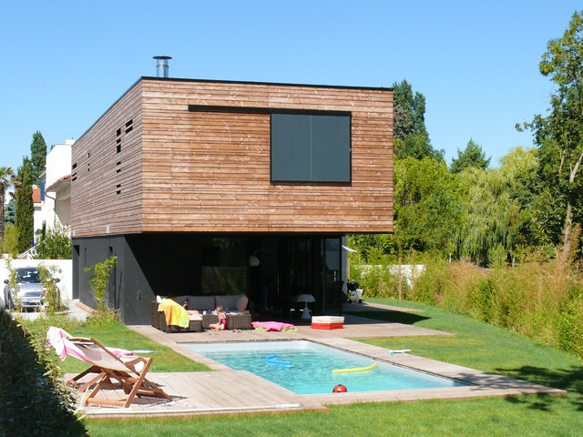 maison la rochelle 04 contemporain piscine nantes par lionel coutier architecte. Black Bedroom Furniture Sets. Home Design Ideas