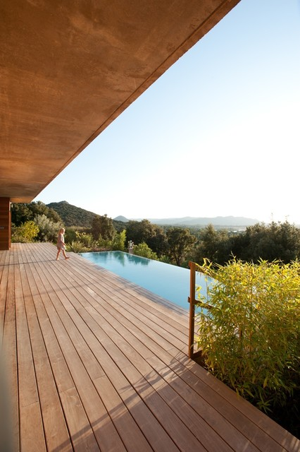 Maison Vue Mer Contemporary Pool Corsica By
