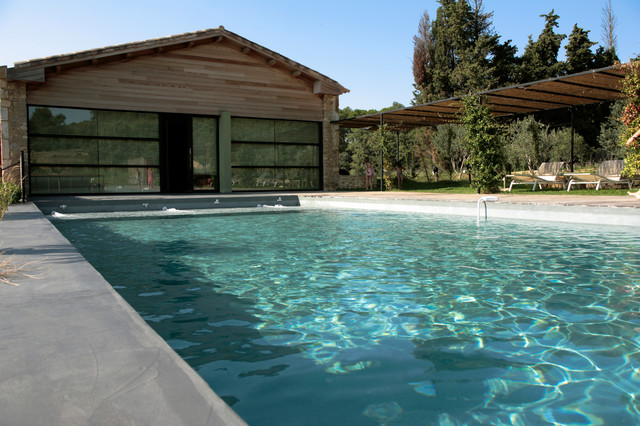 Piscines en b ton cir - Revetement piscine beton cire ...