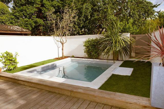 Terrasse avec piscine - Contemporary - Pool - Bordeaux - by ...