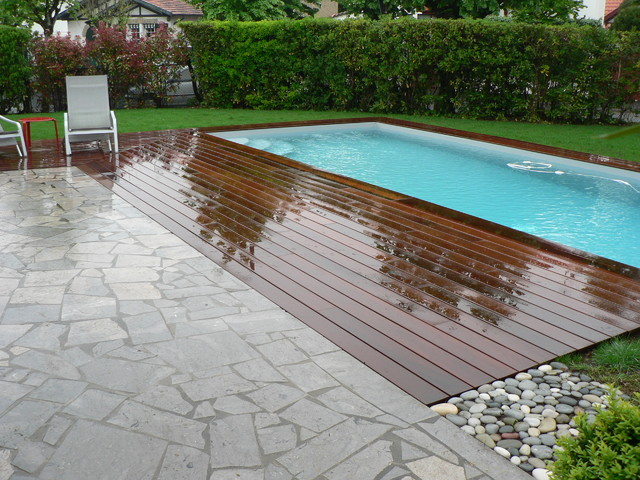 Terrasse ipe for Bord de piscine