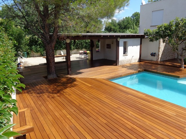 Tour de piscine avec pool house - Photos pool house piscine ...