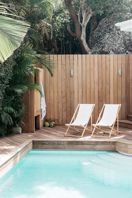 une piscine dans la villa palmier st barth bord de mer piscine paris par atmosph re d. Black Bedroom Furniture Sets. Home Design Ideas