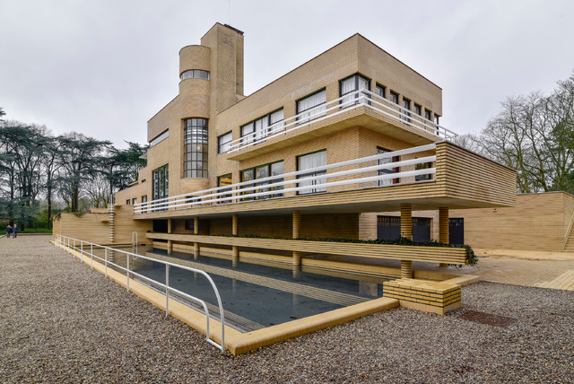 Villa cavrois contemporain piscine lille par for Piscine virginie dedieu