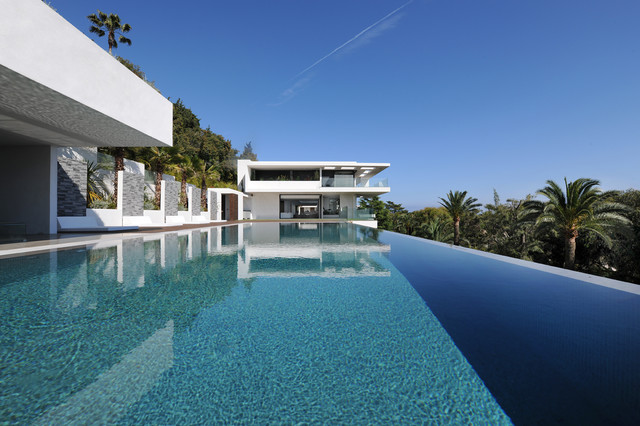 villa sud cannes france contemporary pool other