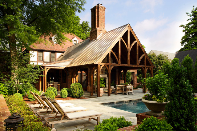Good Traditional Porch by Tuckahoe Creek Construction Inc