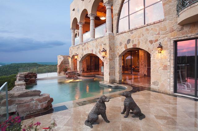 13229 Villa Montana mediterranean-pool
