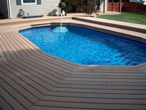 15 X 30 Above Ground Pool Installed In Ground Traditional Pool Philadelphia By Built Right Pools