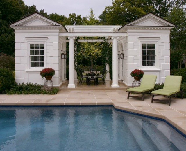 18th C. Georgian traditional-pool