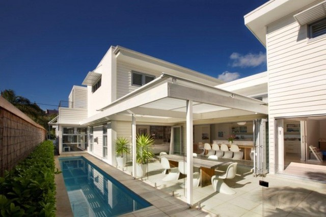 1950s inspired light and bright manly beach house by sanctum design contemporary pool - Beach House Design 1950s