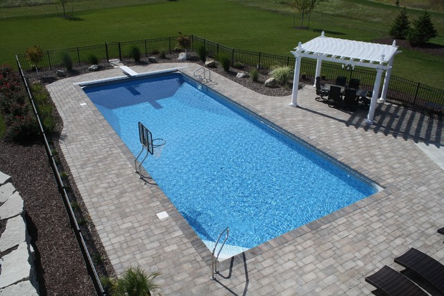 20 X 50 Vinyl Liner Swimming Pool Traditional Pool