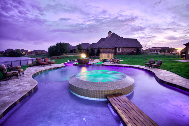 2012 best of show parade home wyatt poindexter kw elite for Pool show okc