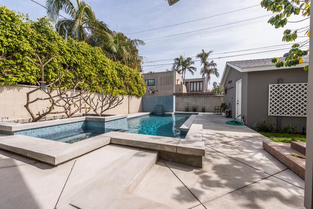 2016 3 1 Howard St Halie Traditional Swimming Pool Hot Tub Los Angeles By B R