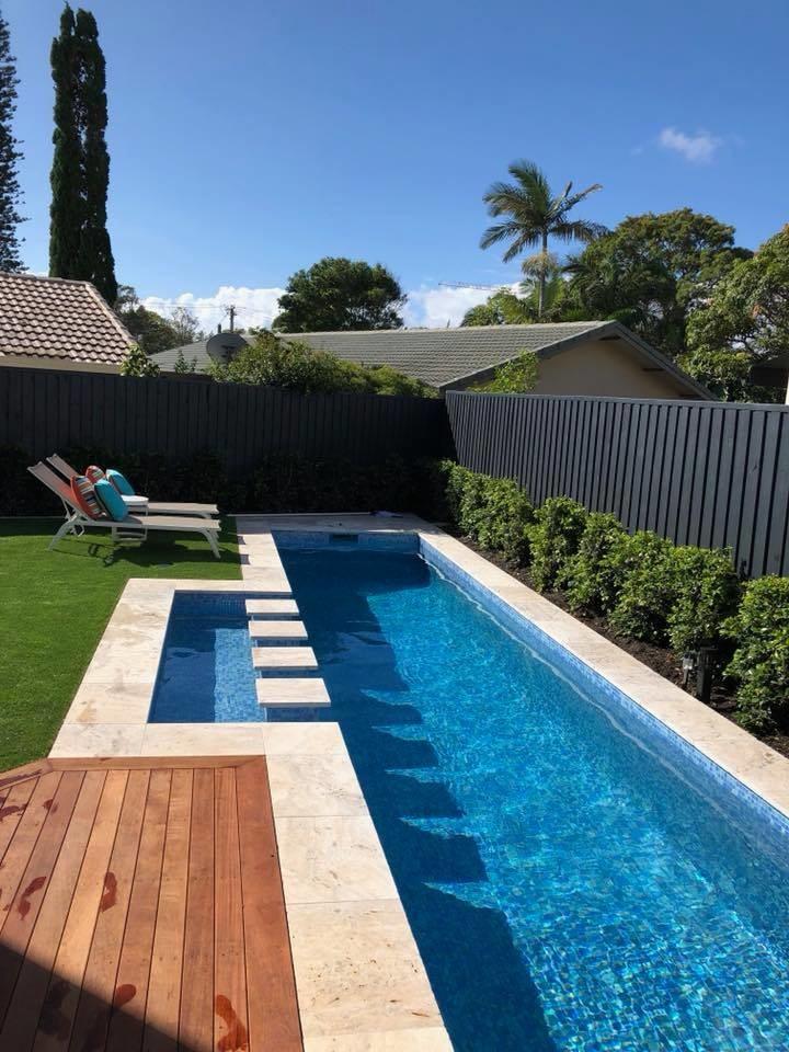 2018 Swimming Pools Modern Pool Gold Coast Tweed By Cozy Pools