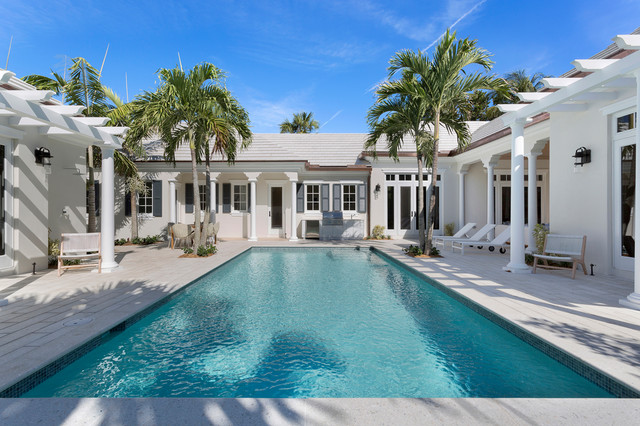 3424 north ocean boulevard gulf stream florida tropical swimming pool miami by for Miami swimming pool contractors