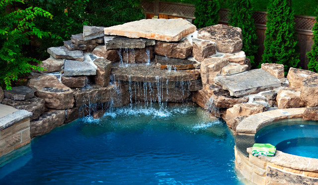 A backyard pool oasis traditional pool toronto by for Pool show toronto