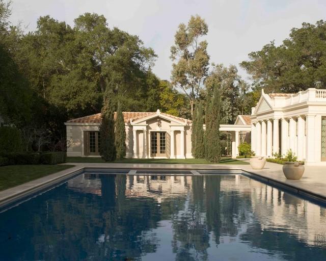 A Greek Villa traditional-pool
