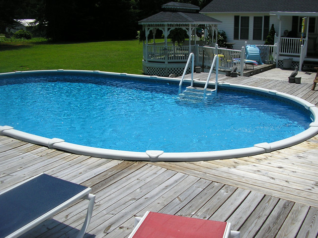 Above ground gallery for In ground swimming pool contractors