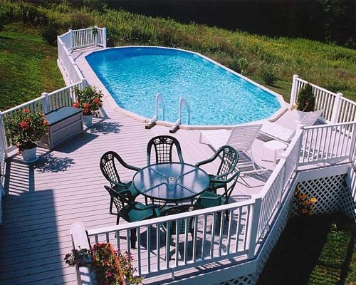 Above ground pool designs contemporary pool for Pool design questions